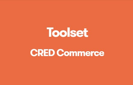 TOOLSET CRED COMMERCE wordpress plugin