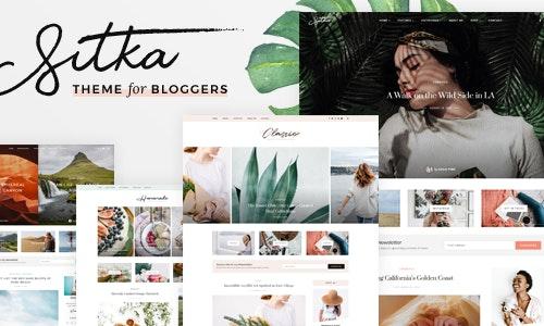 Sitka Modern WordPress Blog Theme