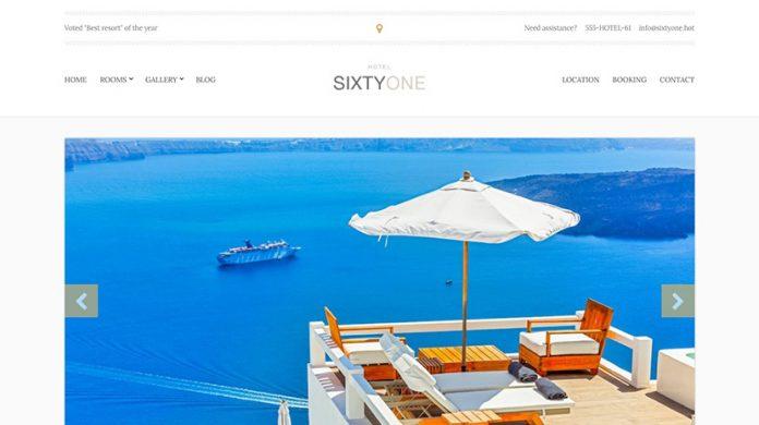 SixtyOne Wordpress Theme Free Download