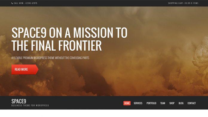 Space9 Wordpress Theme Free Download