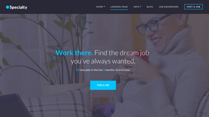 Specialty Wordpress Theme Free Download