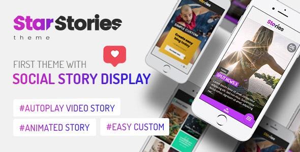 StarStories Creative WordPress News Theme