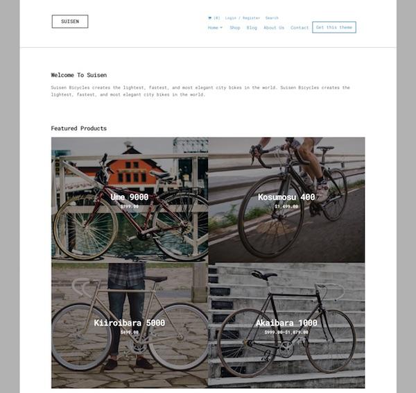 Suisen WooCommerce WordPress Theme Free Download