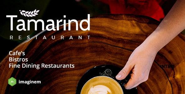 Tamarind Restaurant WordPress Theme