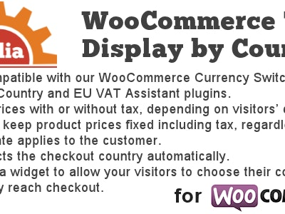 Tax Display by Country for WooCommerce Plugin
