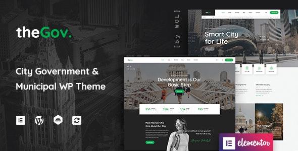 TheGov Municipal and Government WordPress Theme