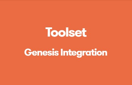 TOOLSET GENESIS INTEGRATION wordpress plugin