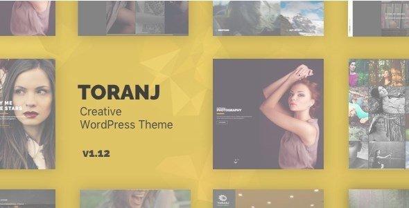 Toranj Photography WordPress Theme