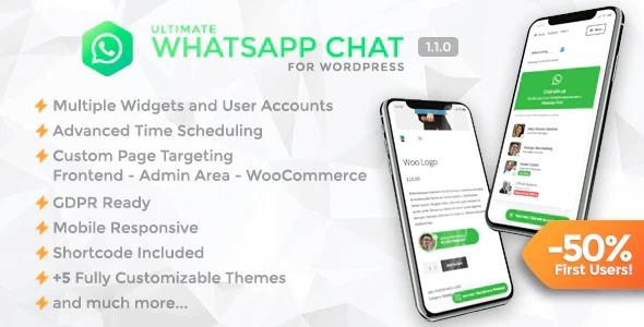 ]Ultimate WhatsApp Chat - WordPress WhatsApp Chat Support Plugin