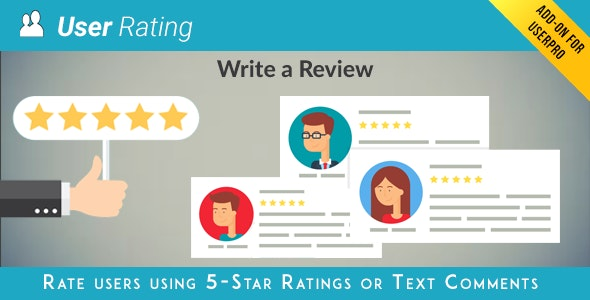 User Rating Review Addon for UserPro