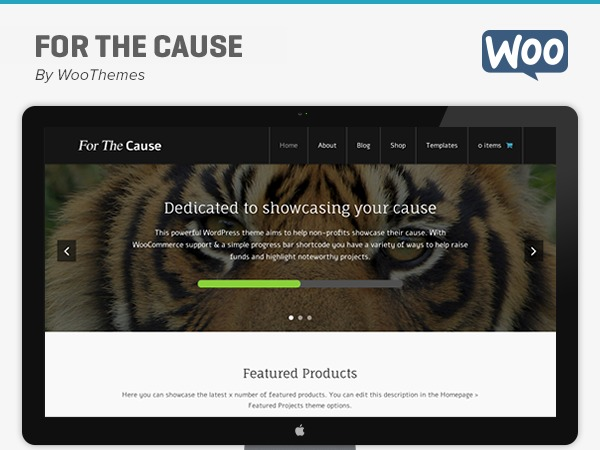 WOOTHEMES THE CAUSE WOOCOMMERCE THEMES
