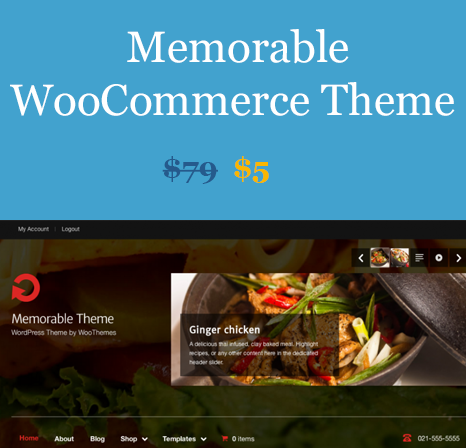 WOOTHEMES MEMORABLE WOOCOMMERCE THEMES