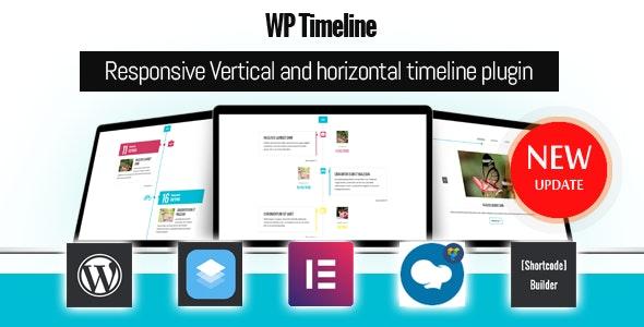 WP Timeline – Vertical and Horizontal timeline plugin