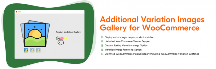 WooCommerce Additional Variation Images plugin