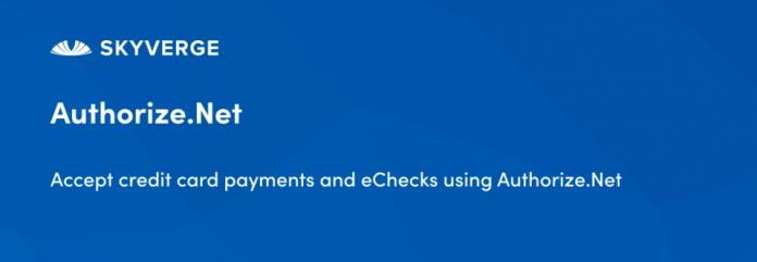 WooCommerce Authorize.Net CIM Payment Gateway 3.2.7