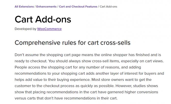 WooCommerce Cart Add-ons 1.5.30