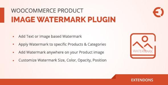 WooCommerce Product Image Watermark wordpress Plugin