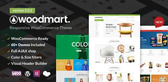 WoodMart Responsive WooCommerce WordPress Theme
