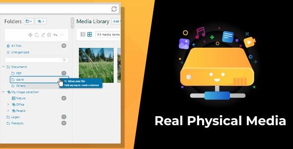 WordPress Real Physical Media: Physical Media Folders & SEO Rewrites v1.1.6 Free Download