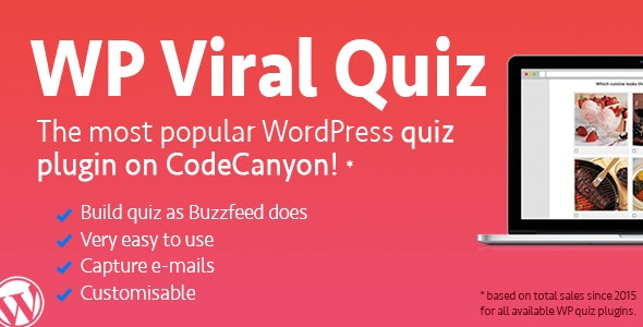 WordPress Viral Quiz Plugin – BuzzFeed Quiz Builder v4.02 free download