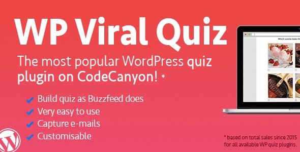 WordPress Viral Quiz Plugin – BuzzFeed Quiz Builder v4.02 free download