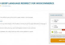 Yith Woocommerce GeoIP Language Redirect Premium