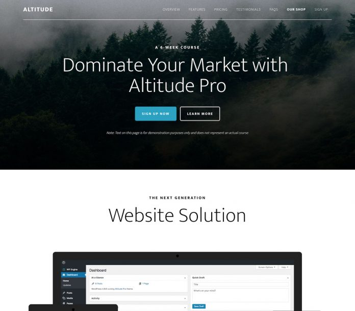 ALTITUDE PRO THEME 1.3.1 FREE DOWNLOAD