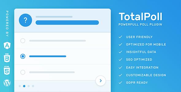 Totalpoll Pro Wordpress Poll Plugin