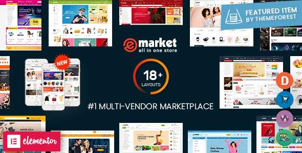eMarket Template for WordPress Online Store