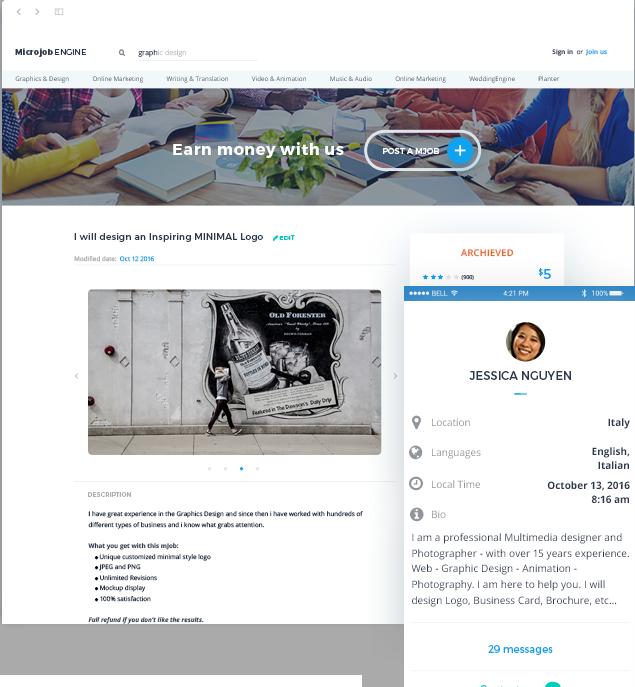 MicrojobEngine WordPress Theme Free Download