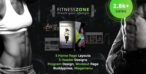 Fitness Zone Gym Fitness Wordpress Theme