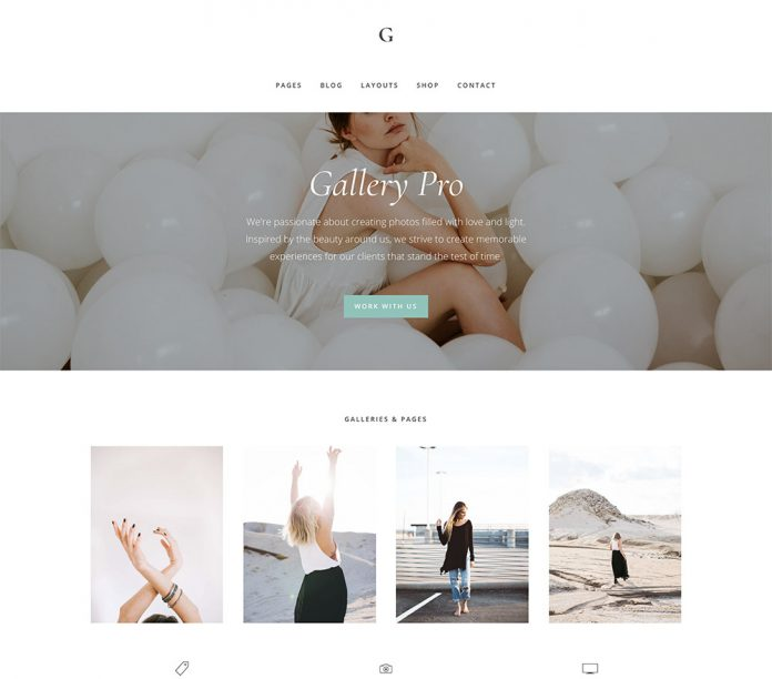 GALLERY PRO THEME 1.2.0 FREE DOWNLOAD