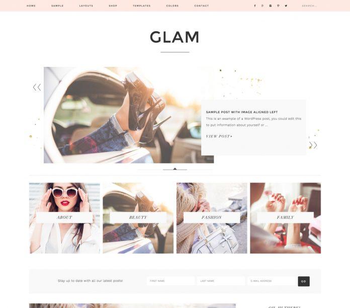 GLAM PRO THEME 1.0.3 FREE DOWNLOAD