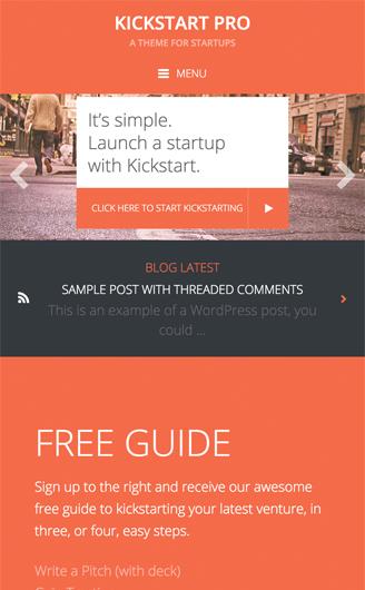 KICKSTART PRO THEME 1.3.7 FREE DOWNLOAD