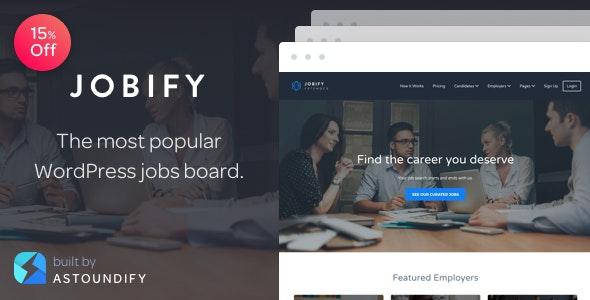 Jobify Job Board WordPress Theme Free Download