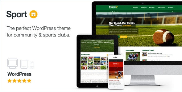 SPORT – WORDPRESS CLUB THEME 2.10 Free Download