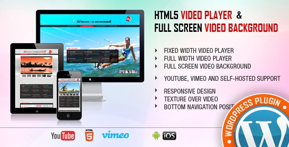 VIDEO PLAYER VIDEO BACKGROUND PLUGIN