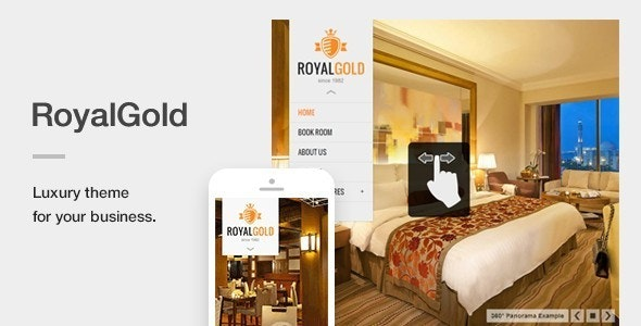 Royalgold Luxury Wordpress Theme