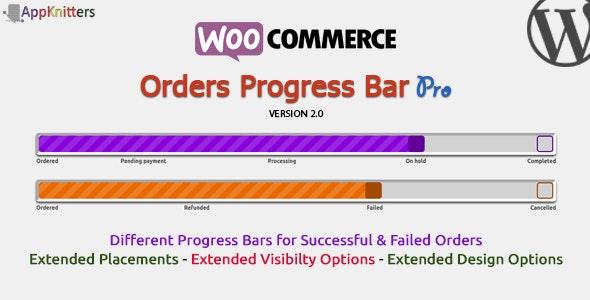 WooCommerce Orders Progress Bar Pro