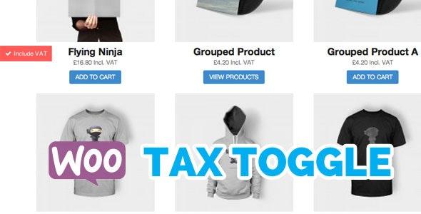 WooCommerce Tax Toggle Wordpress Plugin