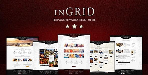 Ingrid Multi-purpose Wordpress Theme