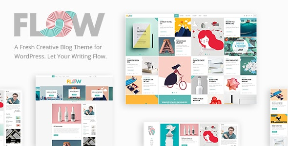 Flow A Fresh Creative Blog Theme