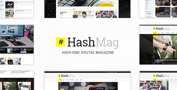 Hashmag Digital Wordpress Theme