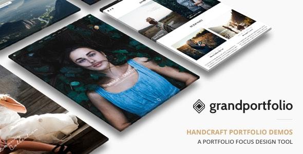 Grand Portfolio Wordpress Theme