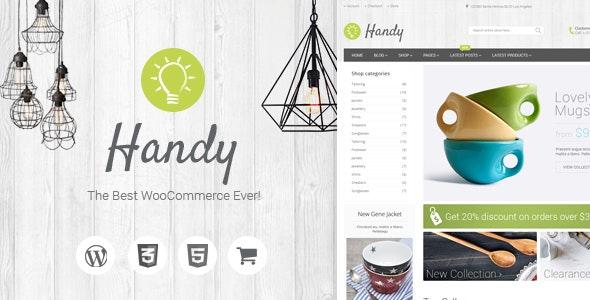 Handy Handmade WordPress Theme