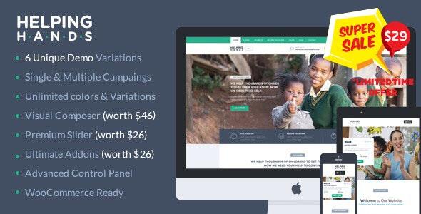 Helpinghand Charity Wordpress Theme