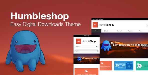 Humbleshop Easy Digital Downloads theme