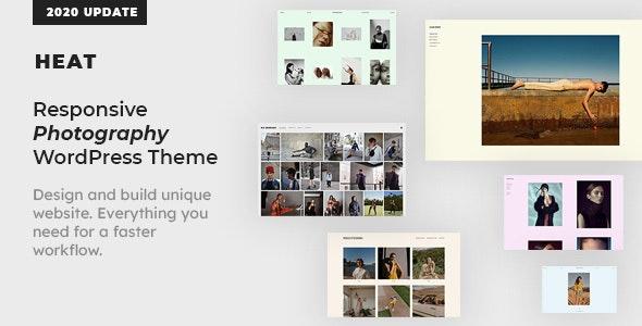 Heat Portfolio Wordpress Theme