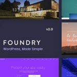 Foundry Multipurpose MultiConcept WP Theme