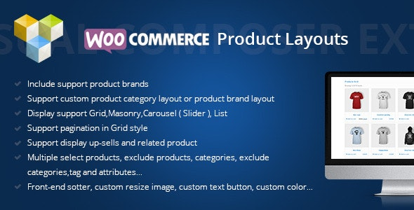 DHWC Layout Woocommerce Products Layouts